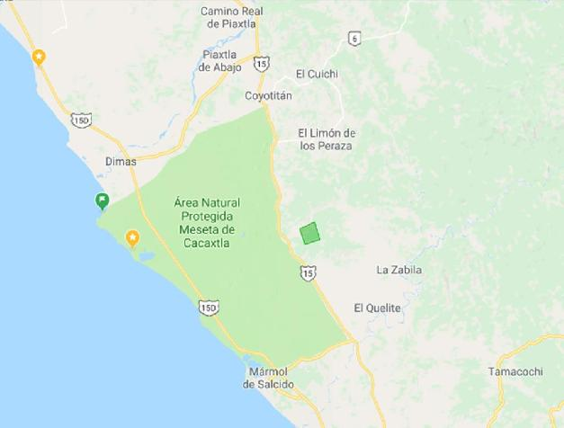 LAND IN MESETA DE CACAXTLA